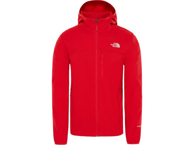 new product b9775 19194 The North Face Nimble Hoodie Jacket Men salsa red